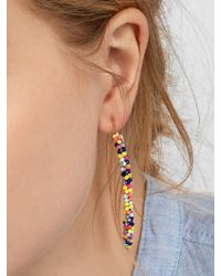 BaubleBar - Black Cait Drop Earrings - Lyst