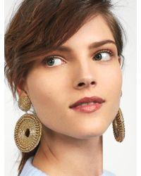 BaubleBar - Metallic Ora Hoop Earrings - Lyst