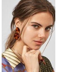 BaubleBar - White Alison Resin Drop Earrings - Lyst
