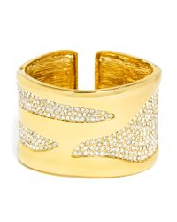 BaubleBar | Metallic Billow Cuff | Lyst