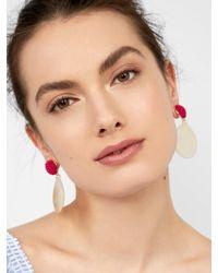 BaubleBar - Metallic Milos Drop Earrings - Lyst