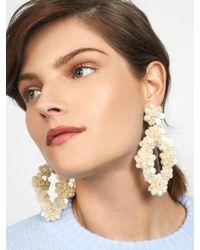 BaubleBar - Metallic Tulipa Sequin Drop Earrings - Lyst