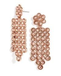 BaubleBar - Pink Disco Drop Earrings - Lyst