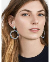 BaubleBar - Multicolor Lavina Hoop Earrings - Lyst