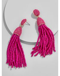 BaubleBar - Pink 'pinata' Tassel Earrings - Lyst