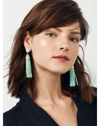 BaubleBar - Green Piñata Tassel Earrings - Lyst