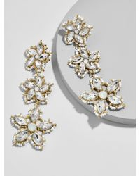 BaubleBar - Multicolor Ice Flower Drop Earrings - Lyst