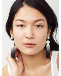BaubleBar - Blue Sarina Tassel Earrings - Lyst