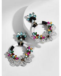 BaubleBar - Multicolor Snowflower Drop Earrings - Lyst