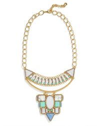 BaubleBar | Metallic Marquessa Statement Necklace | Lyst