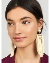BaubleBar - Multicolor Grecian Tassel Earrings - Lyst
