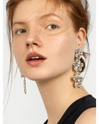 BaubleBar - Multicolor Ice Flower Drop Earrings - Lyst