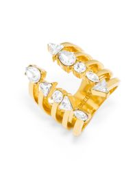 BaubleBar - Metallic Goldrush Ring - Lyst