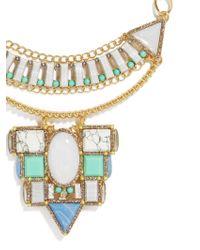 BaubleBar - Metallic Marquessa Statement Necklace - Lyst