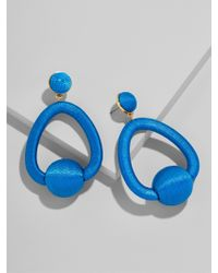 BaubleBar - Blue Mariela Hoop Earrings - Lyst