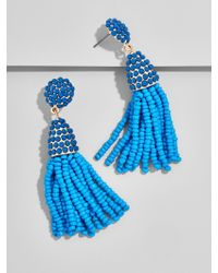 BaubleBar - Blue Mini Piñata Tassel Earrings - Lyst