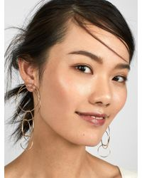 BaubleBar - Multicolor Romelia Linked Hoop Earrings - Lyst