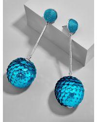 BaubleBar - Multicolor Sequin Ball Drop Earrings - Lyst