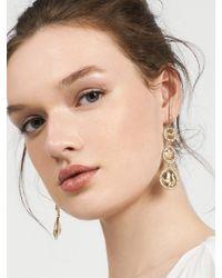 BaubleBar - Metallic Frances Drop Earrings - Lyst