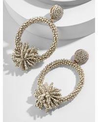 BaubleBar - Metallic Ricarda Hoop Earrings - Lyst