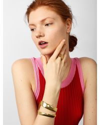 BaubleBar - Metallic Spencer Statement Ring - Lyst