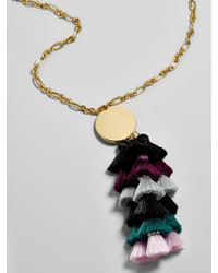 BaubleBar | Multicolor Rima Tassel Necklace | Lyst