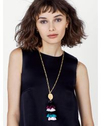 BaubleBar - Multicolor Rima Tassel Necklace - Lyst
