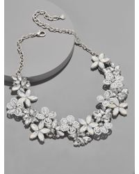 BaubleBar - Multicolor Snowflower Statement Necklace - Lyst