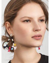 BaubleBar - Multicolor Sardinia Tassel Earrings - Lyst