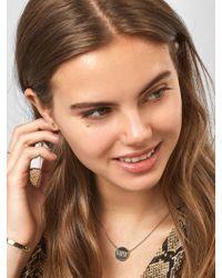 BaubleBar - Multicolor Katie Engravable Pendant Necklace - Lyst