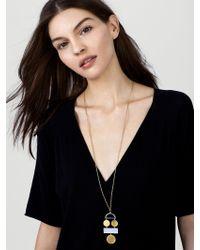 BaubleBar - Metallic Picasso Pendant Necklace - Lyst