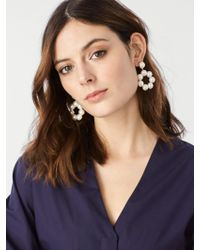 BaubleBar | Multicolor Aleeza Hoop Earrings | Lyst