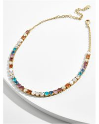 BaubleBar - Multicolor Walk In The Park Collar Necklace - Lyst