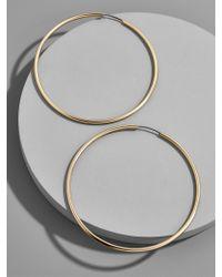 BaubleBar - Metallic Large Joelle Hoop Earrings - Lyst