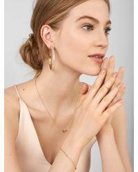 BaubleBar - Multicolor Corazon 18k Gold Plated Bracelet - Lyst