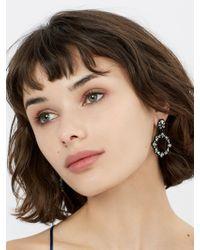 BaubleBar - Multicolor Magnolia Hoop Earrings - Lyst