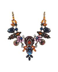 Ziba - Black Elvinia Statement Necklace - Lyst