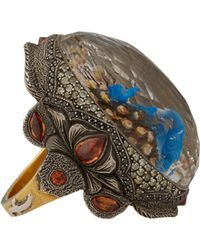 Sevan Biçakci | Gray Peacock Intaglio Ring | Lyst