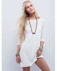 Free People | White Gains Bourg Mini | Lyst