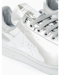 Adidas By Raf Simons | Metallic Stan Smith Sneakers for Men | Lyst