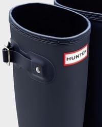 Hunter | Blue Women's Original Stripe Rain Boots | Lyst