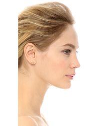 Tai - Metallic Hollow Circle Earrings - Gold - Lyst