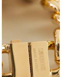 Shourouk - Metallic 'Brutus' Bracelet - Lyst