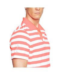 Ralph Lauren | Pink Classic-fit Striped Polo Shirt for Men | Lyst