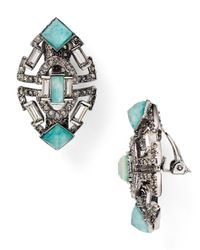 Alexis Bittar | Metallic Baguette Clip-on Earrings | Lyst