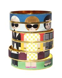 Bijoux De Famille | Multicolor Dress Me Leather Bangles | Lyst