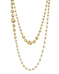 Marco Bicego | Metallic 18k Gold Africa Necklace | Lyst