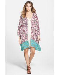 Billabong | Pink 'dazed Dreamer' Kimono | Lyst