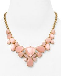 kate spade new york | Pink Color Pop Necklace, 17"