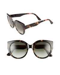 TOMS | Black 'luisa' 54mm Retro Sunglasses | Lyst